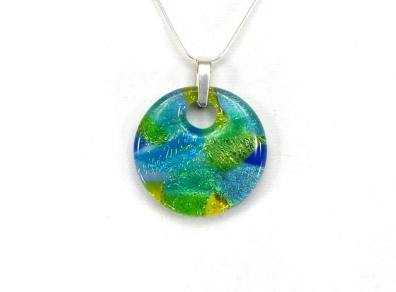 watercolour pendant